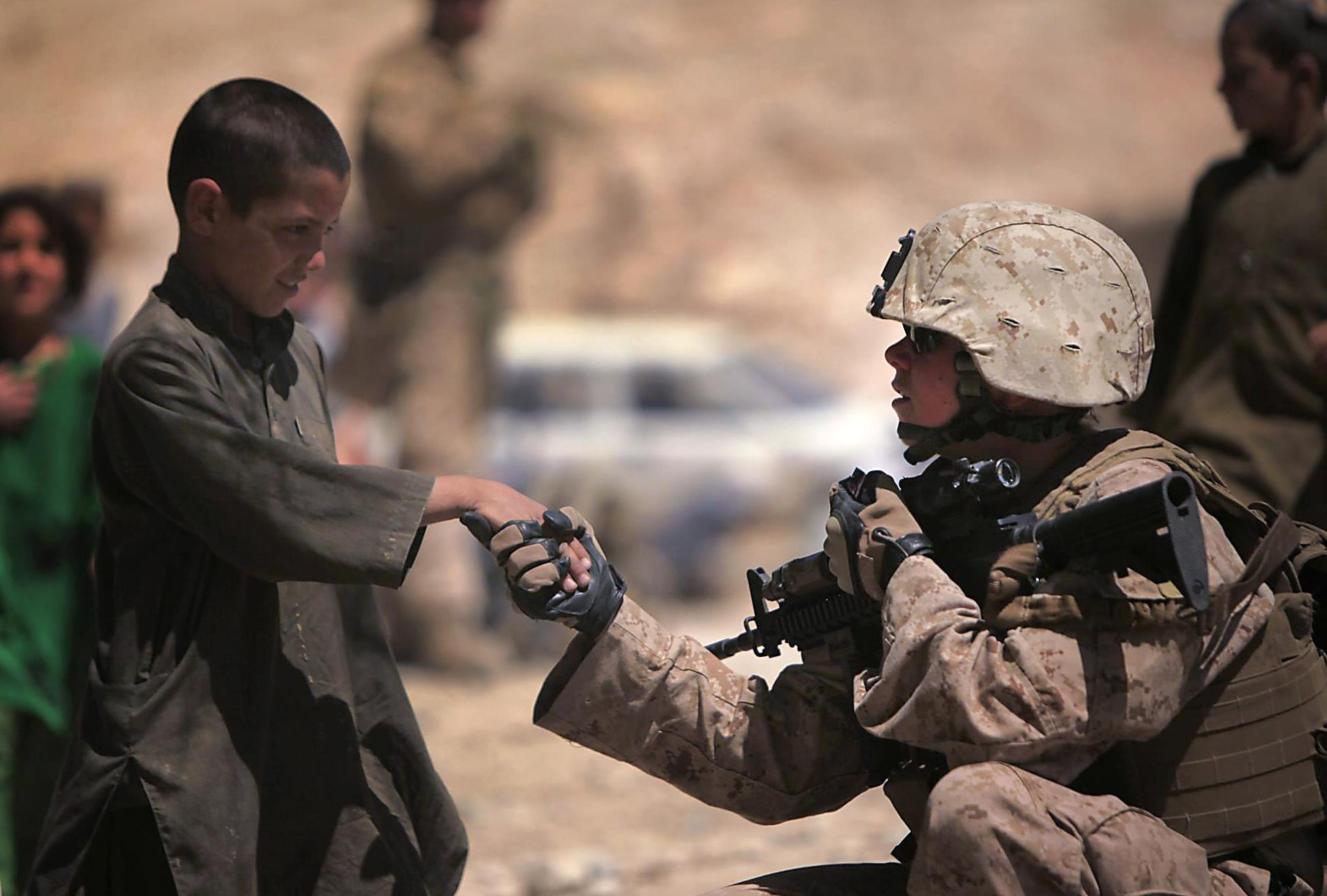 Buddhist Right Action In Practice US Marines
