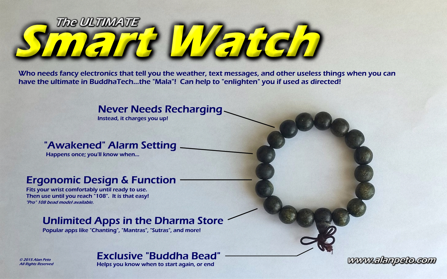 The Ultimate Buddhist Smart Watch by Alan Peto