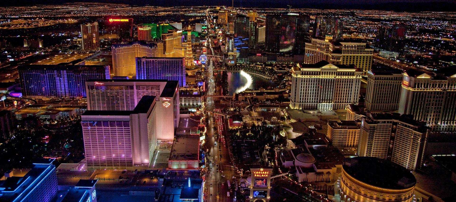 Las Vegas Strip Luftbild